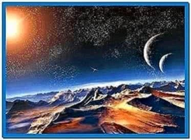 3D Outer Space Screensavers