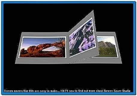 3d photo album screensaver
