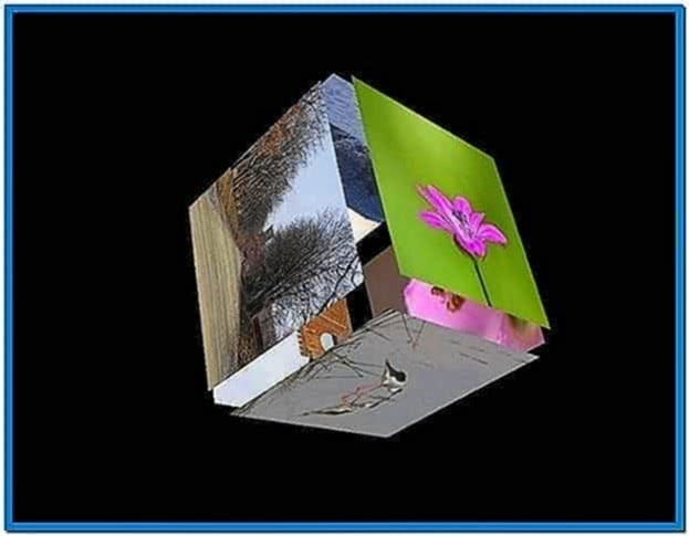 3D Photo Cube Screensaver