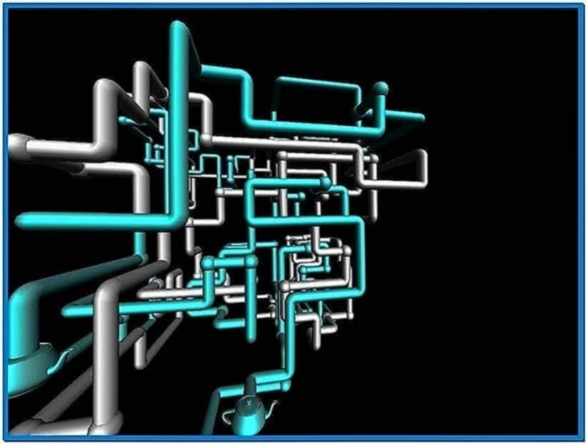 3D Pipes Screensaver