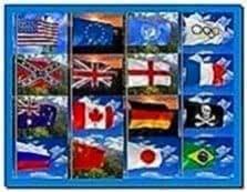 3d realistic flag screensaver 2.24
