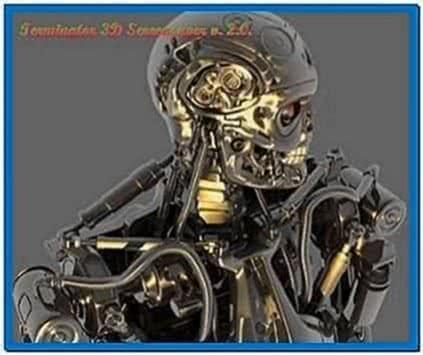 3D Screensaver 2.0 Terminator
