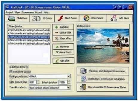 3d screensaver maker freeware