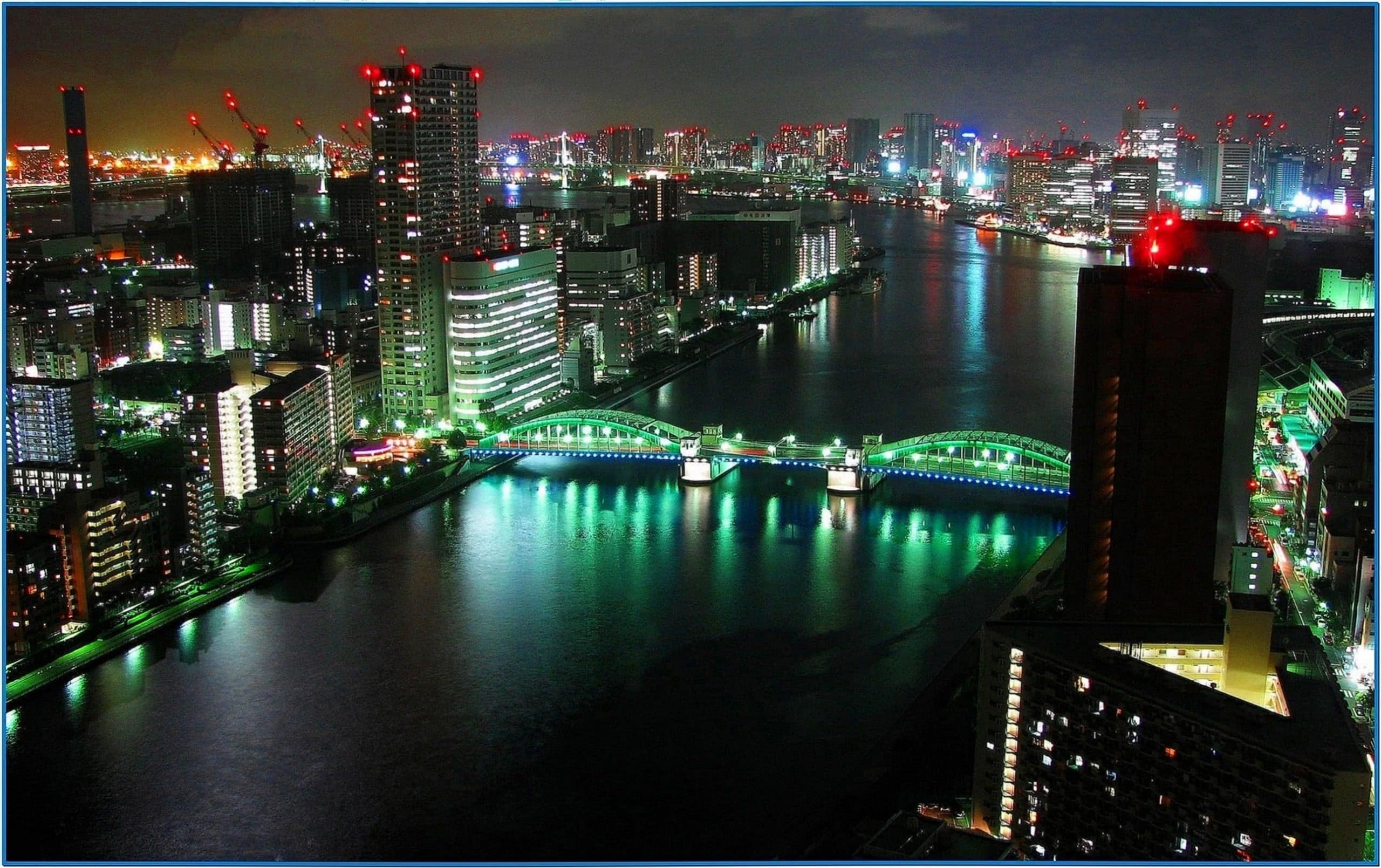3D Screensaver Tokyo