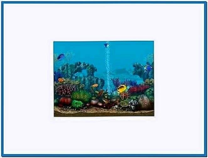 3D Screensavers Living Marine Aquarium