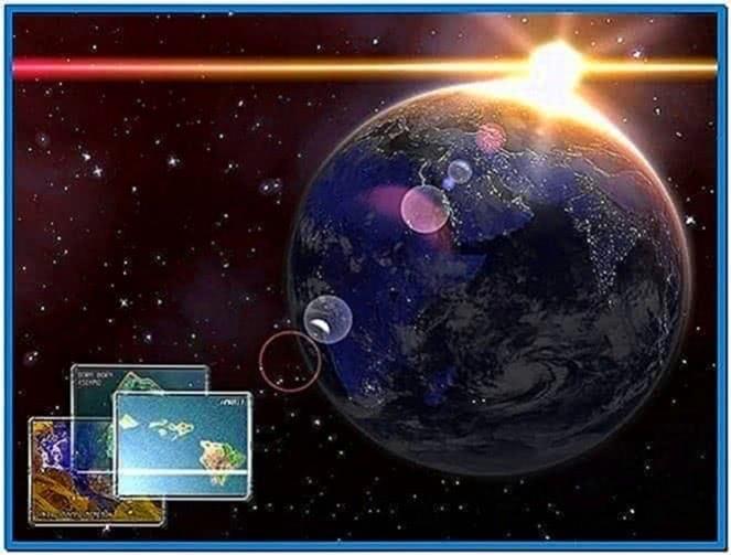 3D Screensavers Space