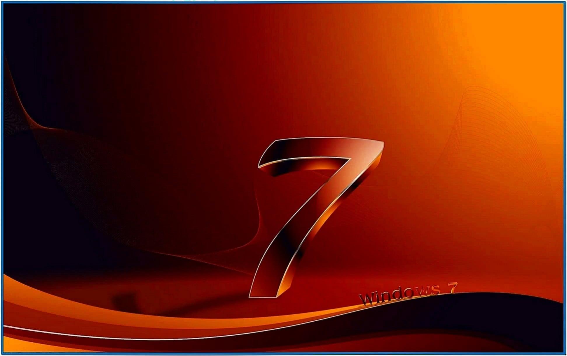 3D Screensavers Windows 7 Starter