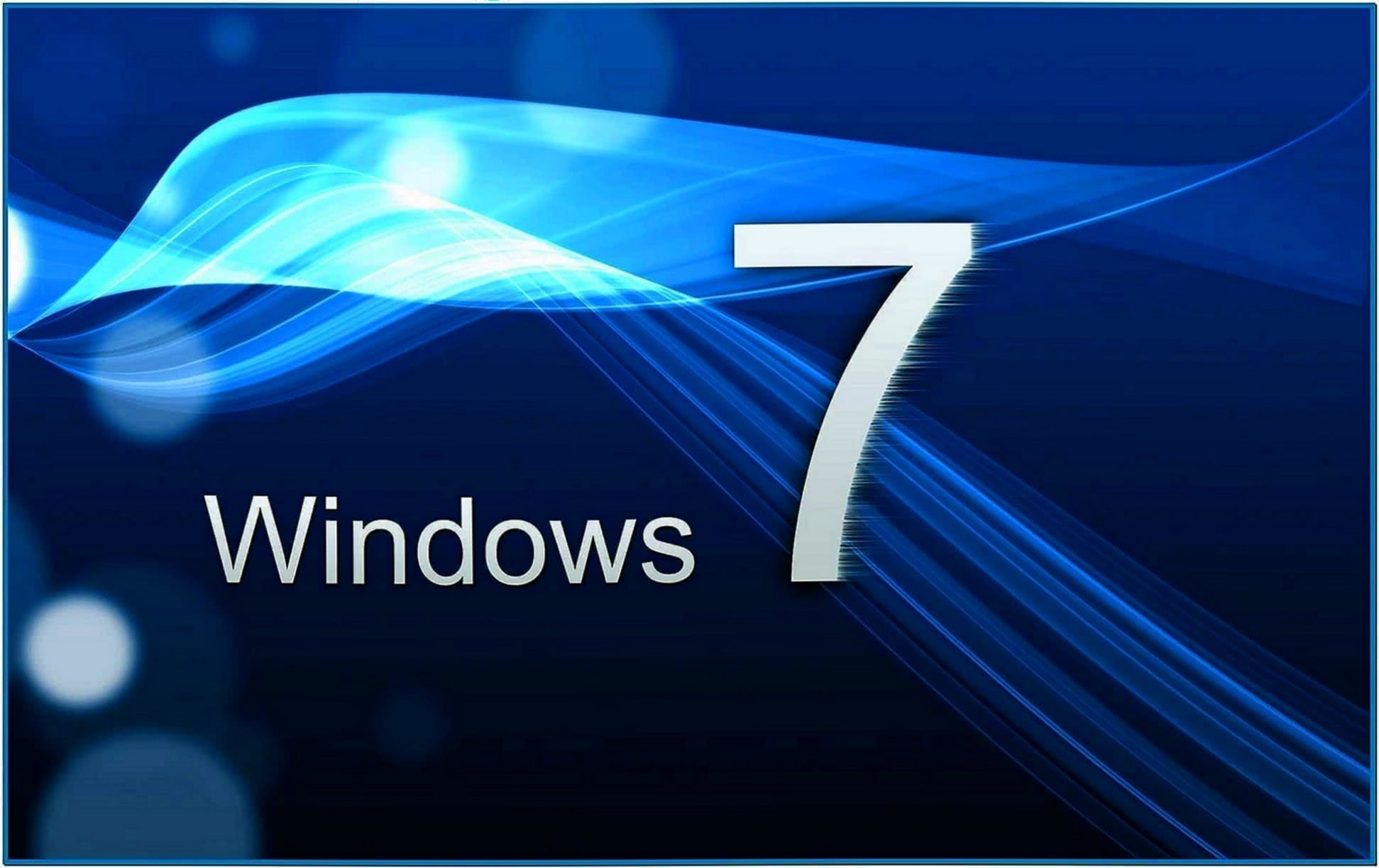 3D Screensavers Windows 7 Starter