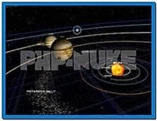 3D Solar System Screensaver Freeware