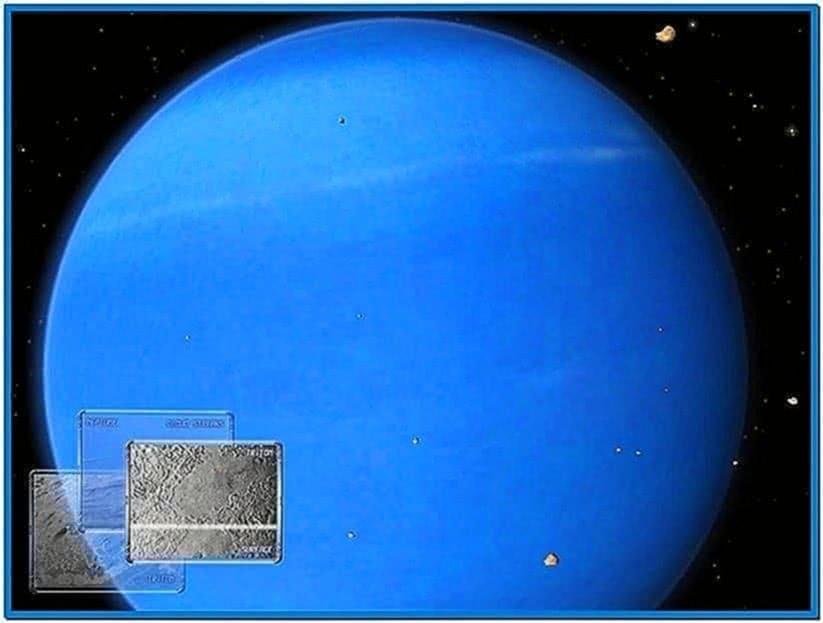 3D Space Screensaver Mac