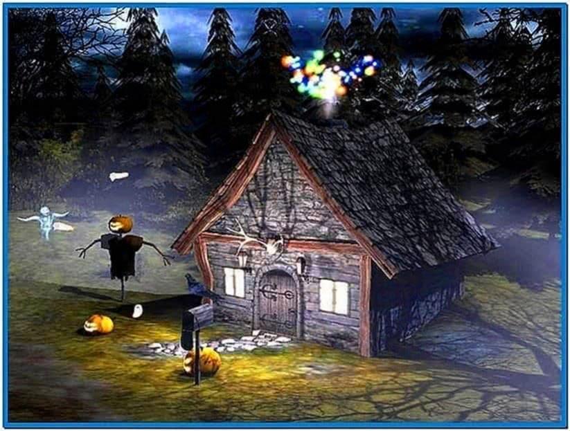 3d spooky halloween screensaver vollversion