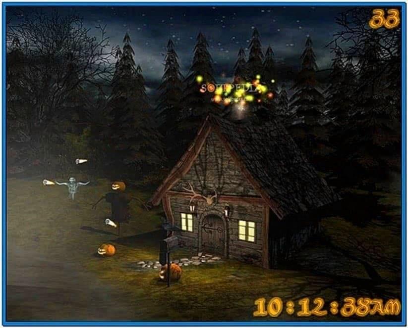 3D Spooky Halloween Screensaver