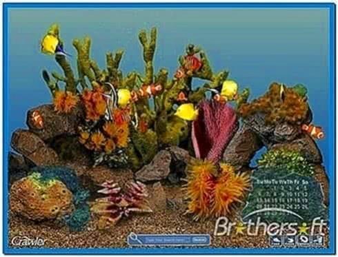 3D Tropical Aquarium Screensaver Mac