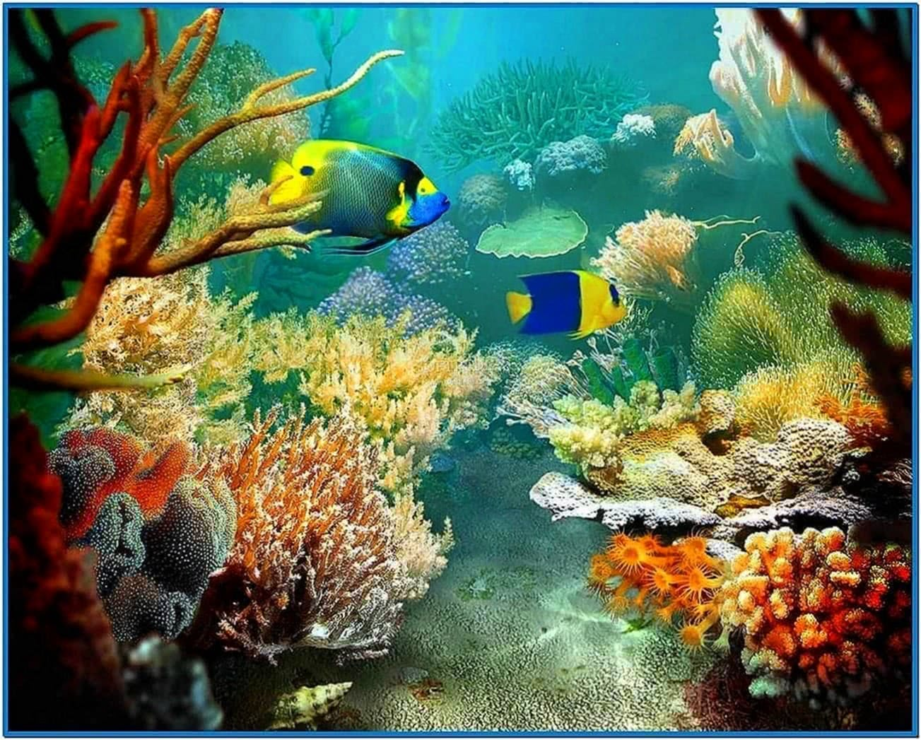 Free fish aquarium screensaver 1 zip download free apps for Fish tank screen