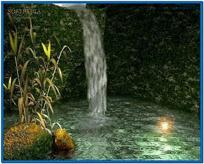 3D Water Screensaver