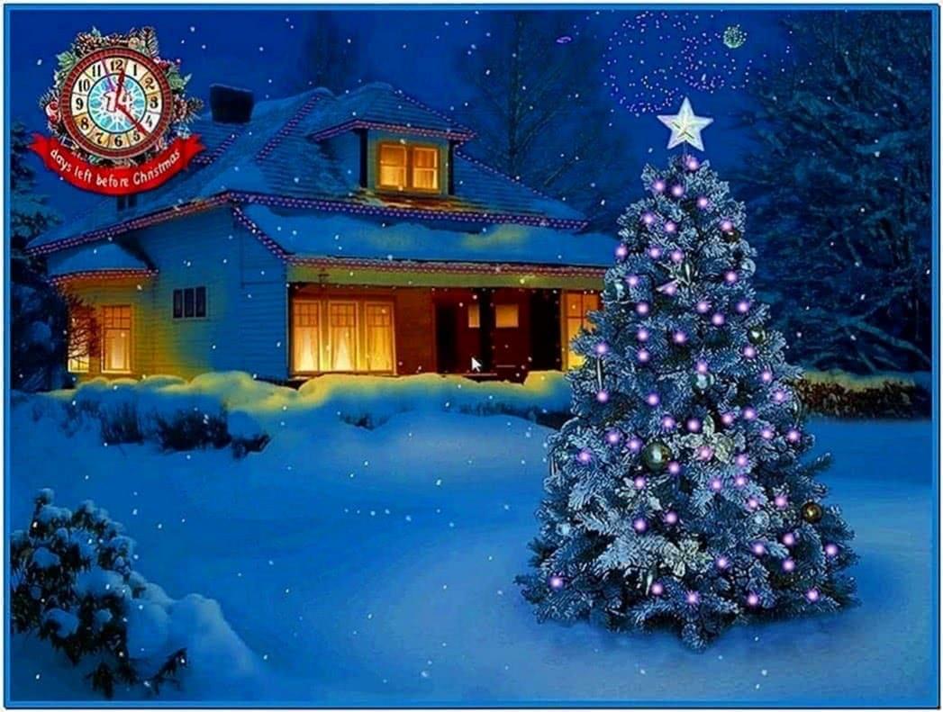 3D White Christmas 4.0 Screensaver - Download-Screensavers.biz
