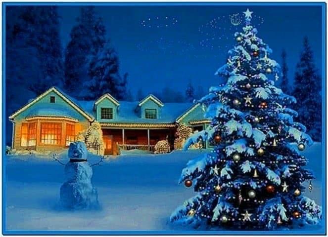 3d white christmas screensavers - Download free