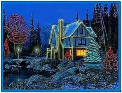 3D Winter Cottage Screensaver
