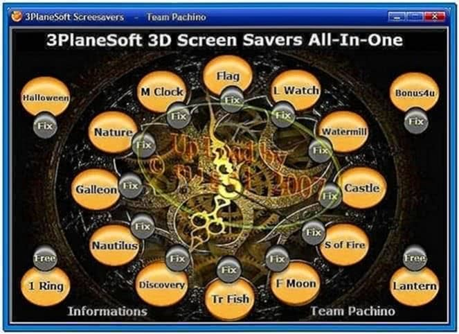 All-In-One 3Planesoft 3D ScreenSavers. Tropical Fish 3D Screensaver.