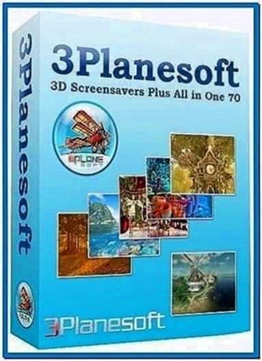3planesoft All 3D Screensavers