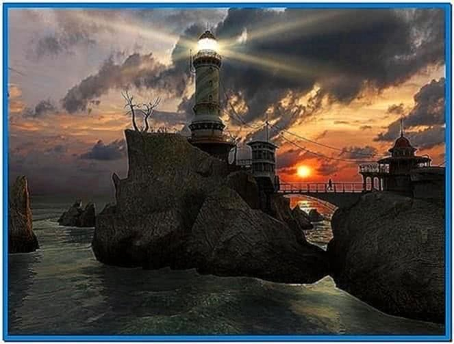 3planesoft Lighthouse Point 3D Screensaver