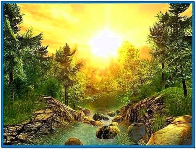 3planesoft Nature 3D Screensaver