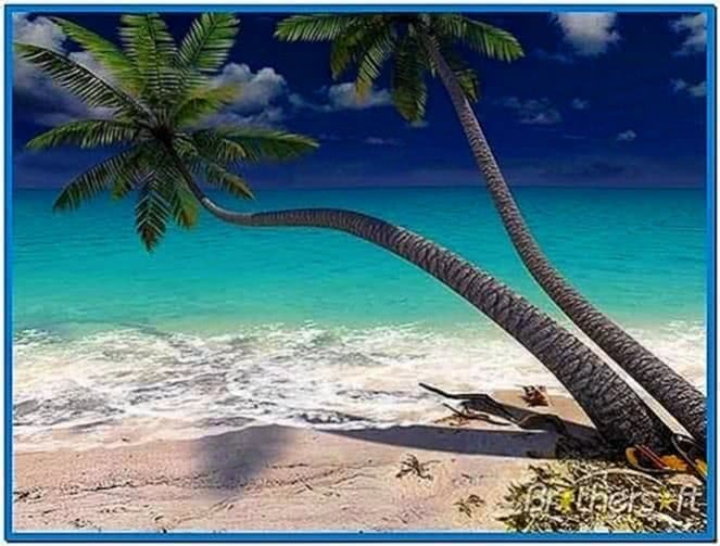 3planesoft Sandy Beach 3D Screensaver