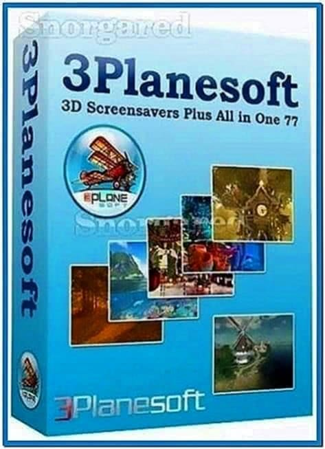 3planesoft Screensaver All in One