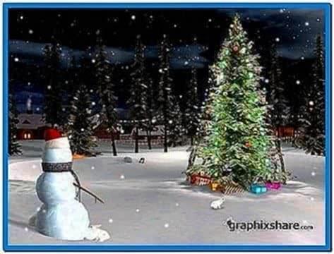 3planesoft White Christmas 3D Screensaver 1.0.0.3