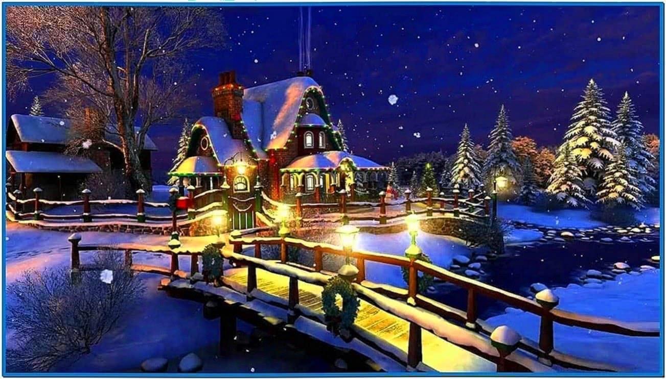 3planesoft White Christmas 3D Screensaver