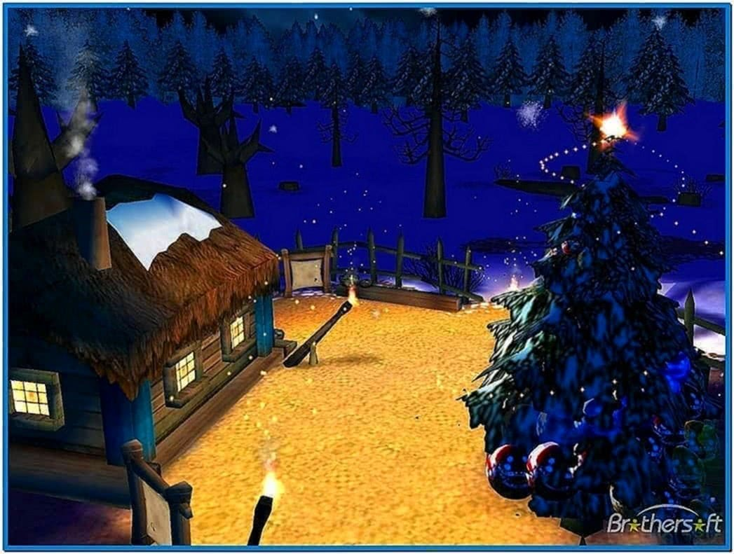 7art Christmas Night 3D Screensaver