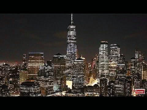 New York Skyline at Night Screensaver