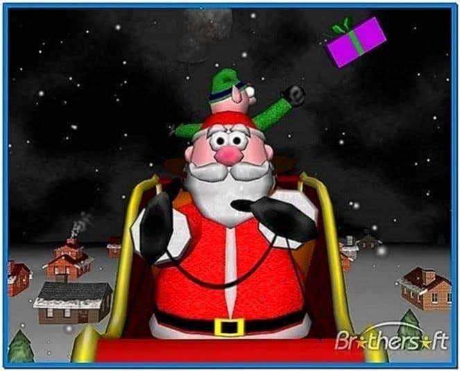 A very 3D christmas screensaver Mac