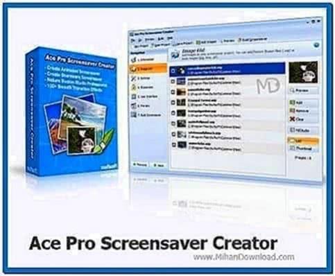 Ace Pro Screensaver Creator 4.0
