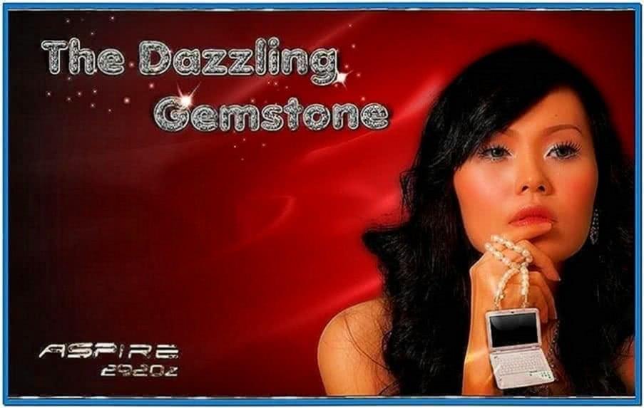 Acer Aspire Gemstone Screensaver