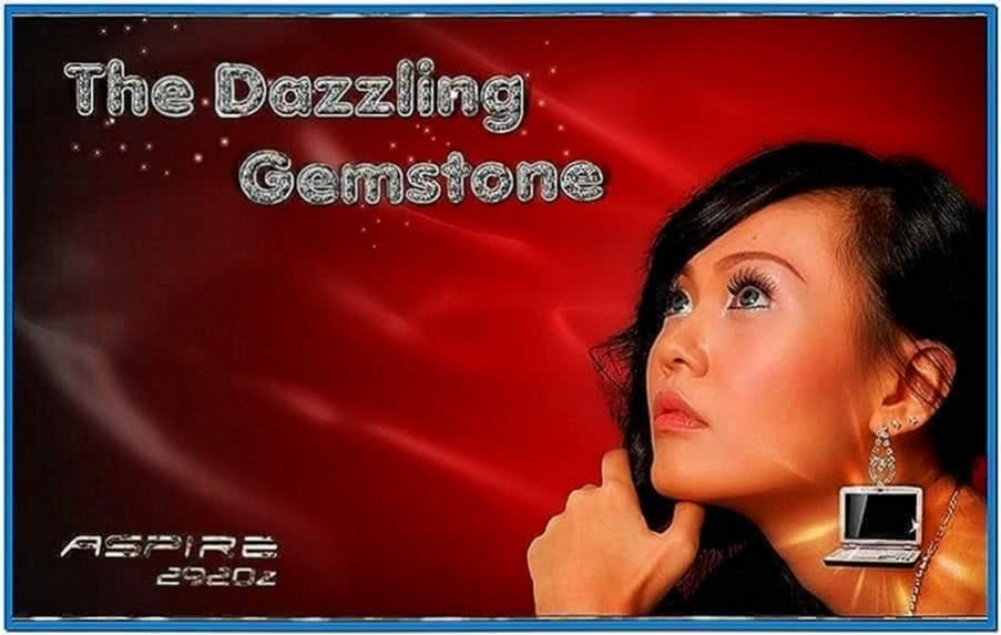 Acer Aspire Gemstone Screensaver