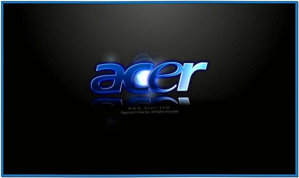 Acer Aspire One Screensaver