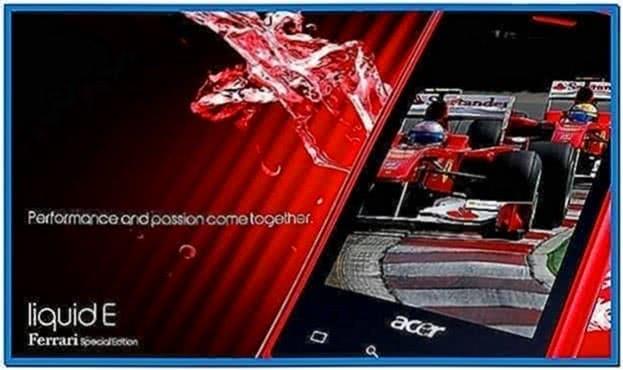 Acer Ferrari Wallpaper and Screensaver