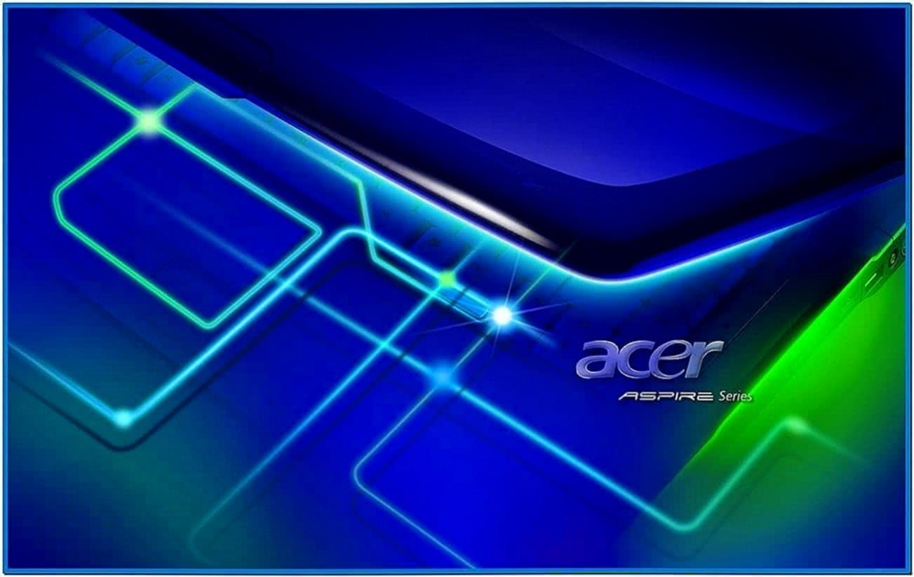 Acer Screensaver Notebook