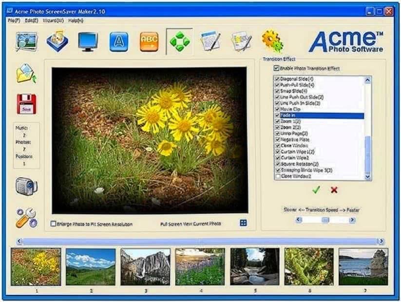 Acme Photo Screensaver Maker 4.50