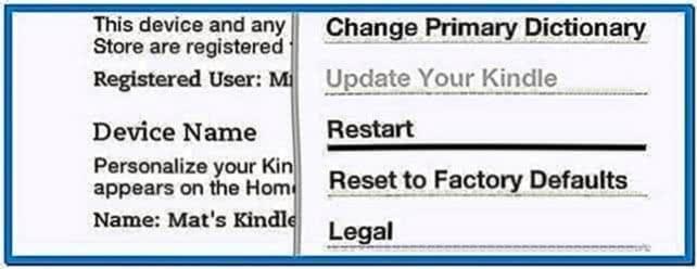Add New Kindle Screensavers
