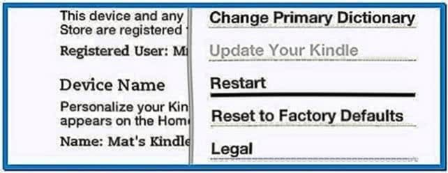 Add Screensavers Kindle 3