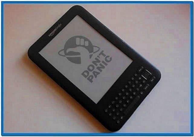 Add Screensavers Kindle 4