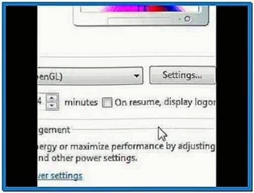 Adding A New Screensaver Windows 7