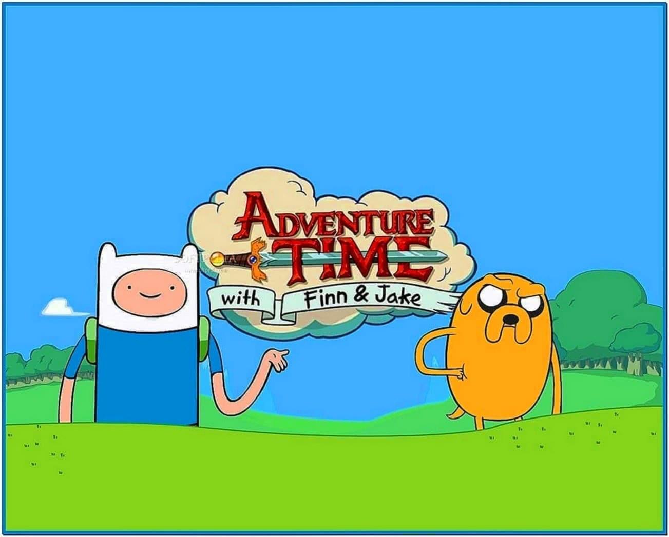 Adventure Time Screensaver Mac