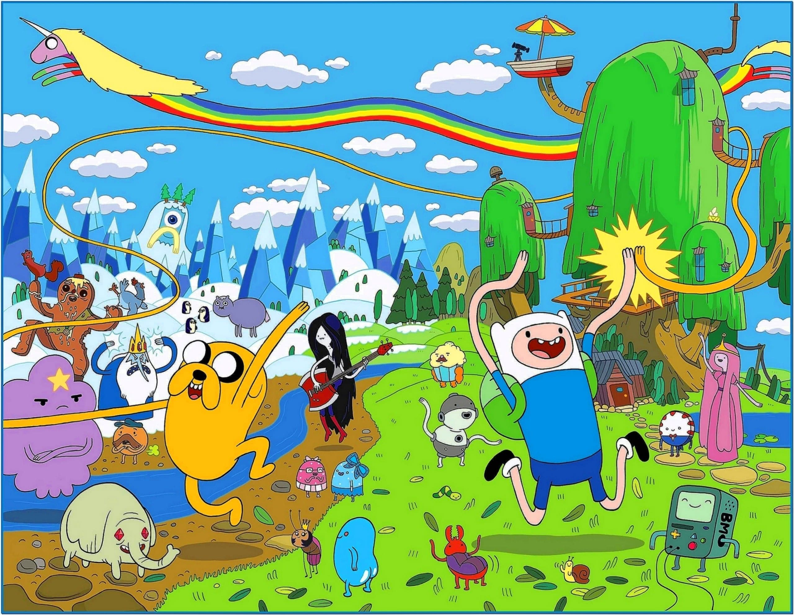 Adventure Time Screensaver Mac