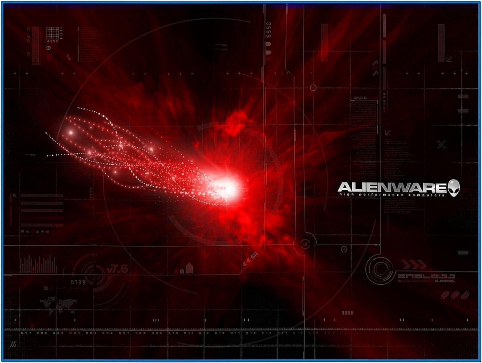 Alienware screensaver Windows 7
