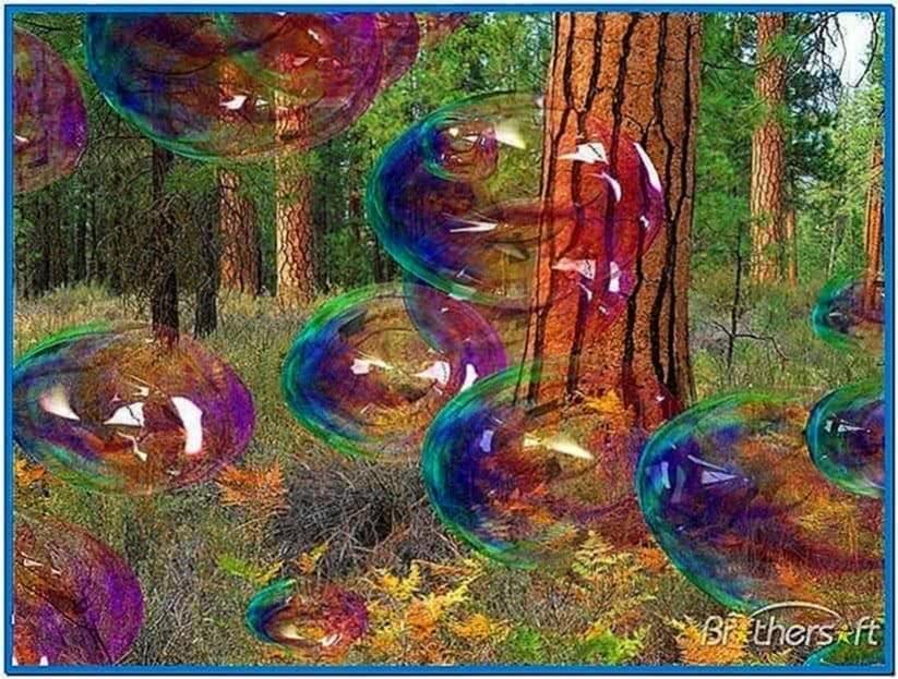 Amazing bubbles 3D screensaver 1.1