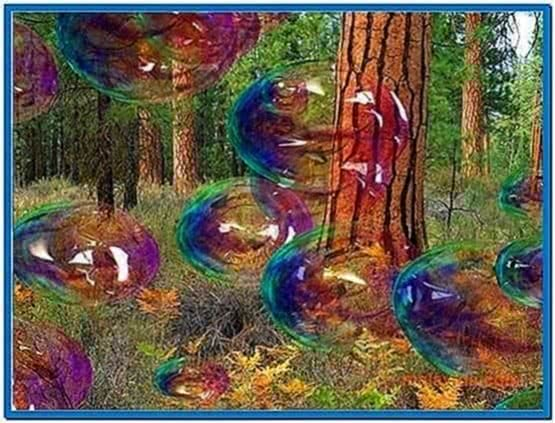 Amazing Bubbles 3D Screensaver Software