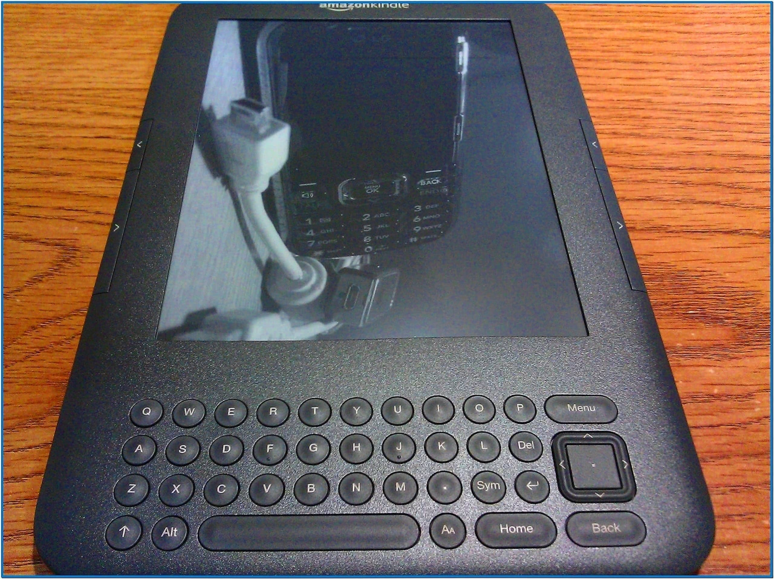 Amazon Kindle 3 Custom Screensaver